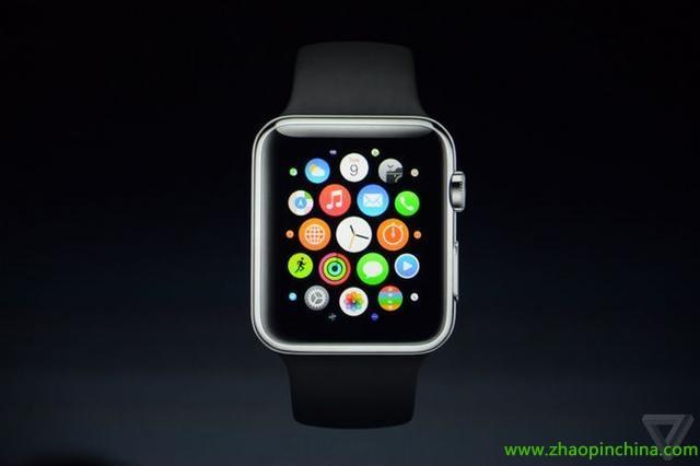 苹果发布iphone 6/6 plus 智能手表同步亮相